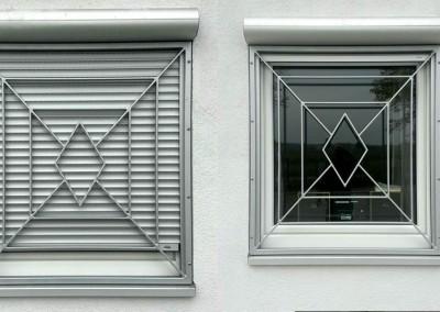 Fenstergitter Rombus