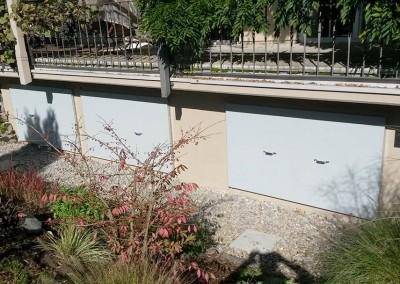 Hochwasserschutz Fenster geschlossen