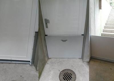 Hochwasserschutz Kellerabgang