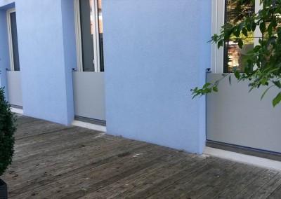 Hochwasserschutz Terrassentür