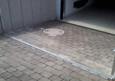 Hochwasserschutz Tor nicht-schwenkbar