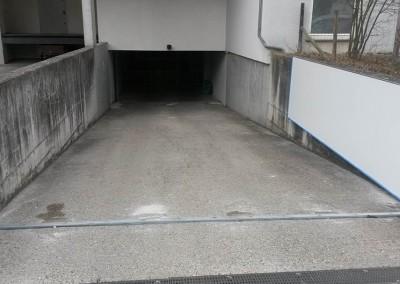 Hochwasserschutz Tor schwenkbar